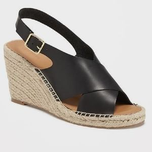 Old Navy espadrille wedge sandals